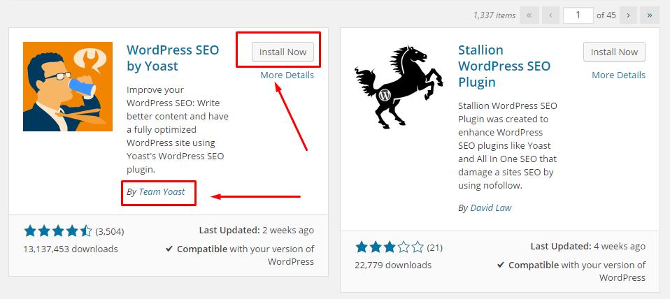 Cara Instal Plugin WordPress